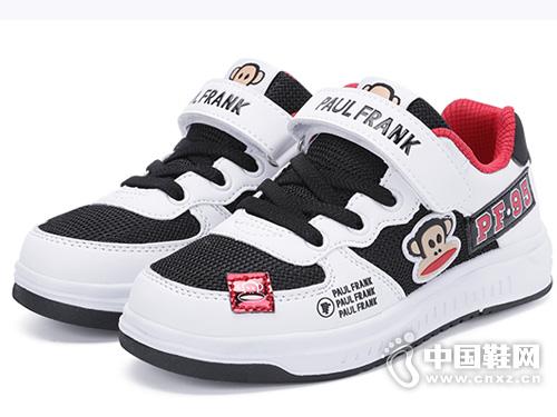2019春秋款新款大嘴猴男童板鞋小白鞋韩版