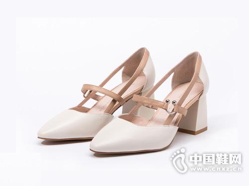 D:Fuse迪芙斯2019春季新款玛丽珍单鞋