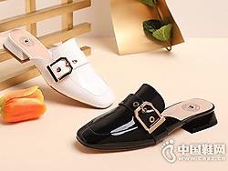 骆驼女鞋2019新款春?#23621;?#20262;风女拖