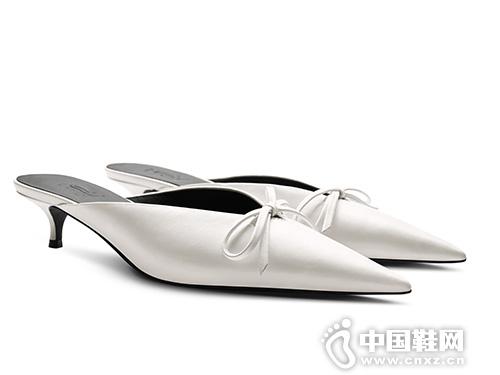 蝴蝶结懒人鞋拖鞋烫社交女鞋2019春季新款