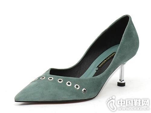 2019新款EM易美时尚品牌时装高跟鞋