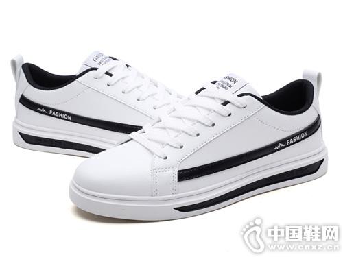 2019德尔惠男鞋板鞋男春夏季休闲鞋