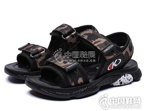 2019夏季新款韩版沙滩鞋迷彩乖乖狗童鞋潮