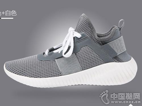 透气网面休闲板鞋黑白跑步鞋JOMA新款