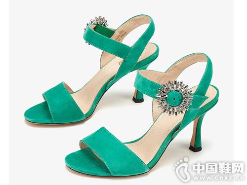 aee爱意女鞋2019夏新款高跟凉鞋