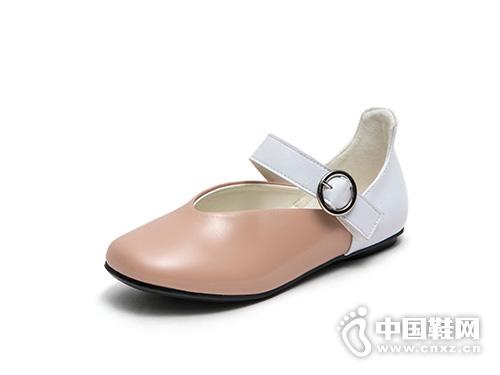 公主鞋韩版好榜样女童黑色皮鞋