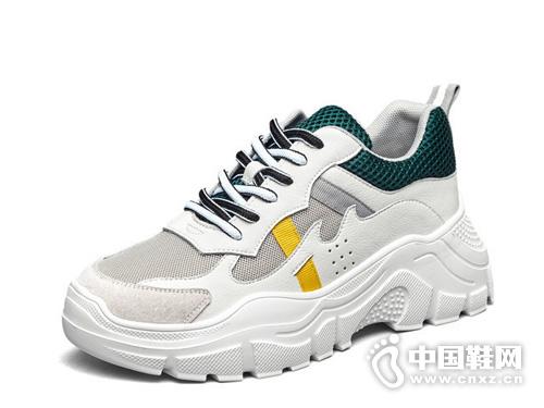 網紅老爹鞋意爾康女鞋2019春季新款運動鞋