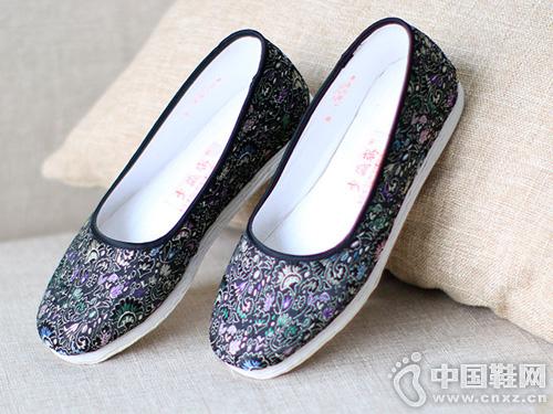 步瀛斋老北京布鞋手工千层底休闲鞋