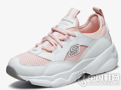 Skechers斯凯奇女鞋熊猫鞋老爹鞋