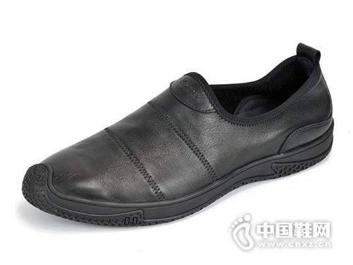 Kaieers科而士19春季新品舒适休闲真皮男鞋