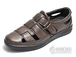 19年新款Kaieers科而士休闲镂空舒适男鞋