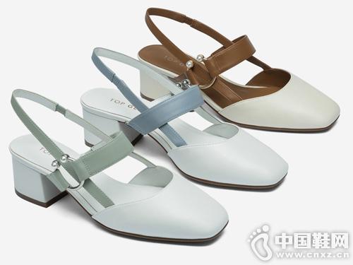 topgloria汤普葛罗2019新款春季平底鞋