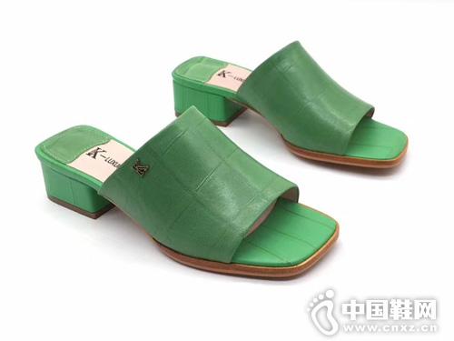 夏季K牌2019新款真皮凉鞋