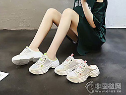 慕�m茜MULANXI2019新款老爹女鞋