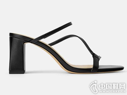 高跟凉鞋丹路姿2019新款舒适女鞋