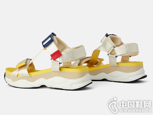 老爹涼鞋2019新款丹路姿女鞋