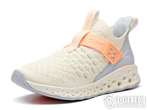 安踏運動鞋2019夏季新品蟲洞科技跑步鞋