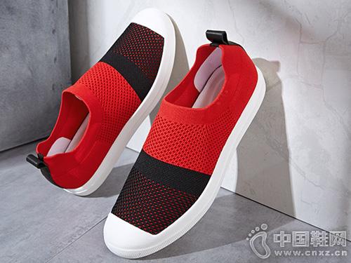 VOLO犀牛男鞋夏季休閑鞋網拼色運動鞋