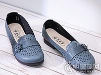 老美华妈妈鞋舒适镂空百搭老人鞋