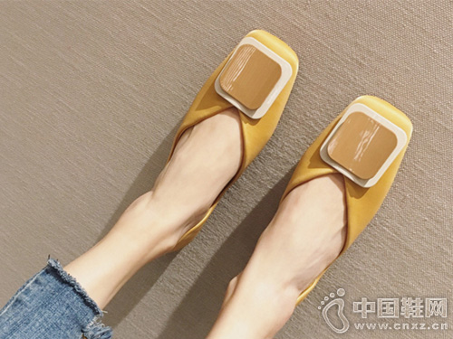 香香莉2019小清新平底鞋女糖果色船鞋