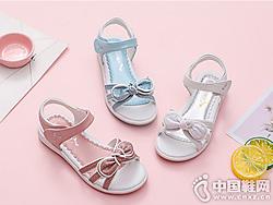 新款红蜻蜓童鞋2019凉鞋真皮公主