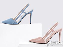 欧美简约女士尖头高跟鞋CHARLES&KEITH新款