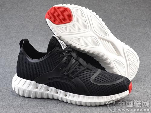 2019夏季新款Rishun日顺皇男鞋网面鞋