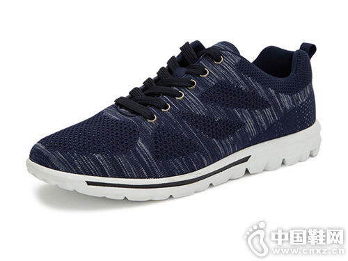 美特斯邦威运动鞋潮流百搭飞织休闲慢跑鞋
