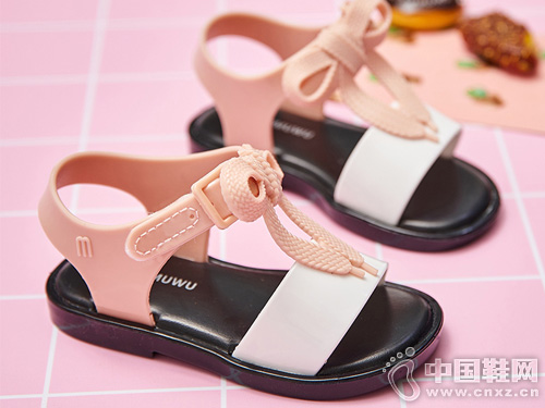 木木屋女童果凍鞋2019夏季新款