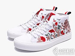 2019中国风潮流布鞋blai hilton布莱希尔顿新款