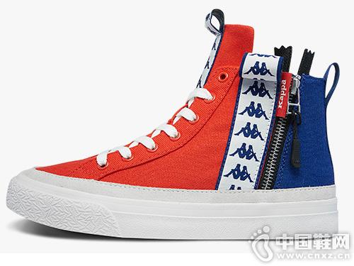 KappaBANDA高帮帆布鞋2019新款