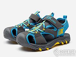 男童凉鞋2019新款韩版哈比熊凉鞋