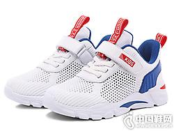 2019年夏季新款哈比熊儿童小白鞋