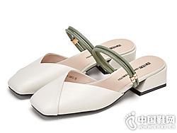 西村名物穆勒鞋女一字�Т值透�拖鞋
