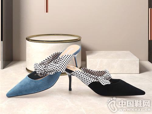 穆勒鞋女2019春夏新款羊皮克克女鞋