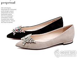 wanlima?#21512;?#23395;新款蝴蝶结女单鞋