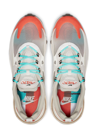Nike 正式发布全新混血鞋款:Air Max 270 React