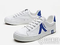 人本帆布鞋女2019新款学生板鞋韩版