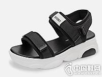 毅雅2019新款夏季百搭松糕凉鞋