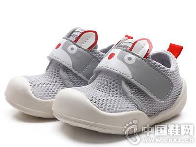 哈休童鞋婴儿学步鞋防滑0-1岁宝宝机能鞋
