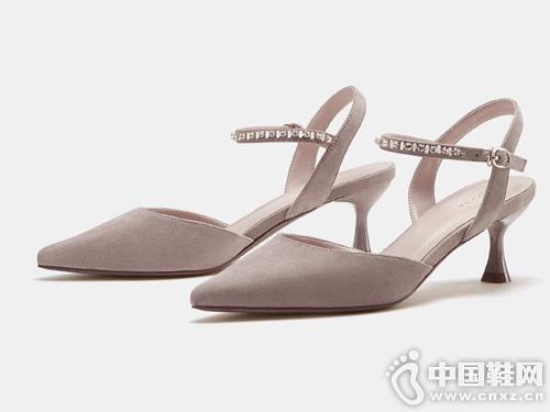 小猫跟单鞋女高跟鞋色非2019新款