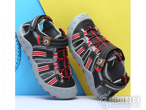 奥特曼凉鞋男童凉鞋2019新款包头凉鞋