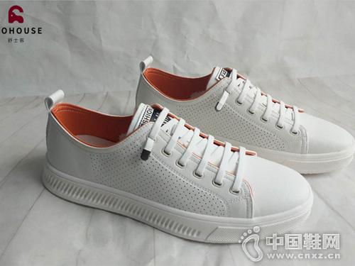 舒士客休閑鞋2019新款舒適小白鞋