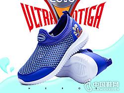 奥特曼童鞋2019夏季男童透气网鞋