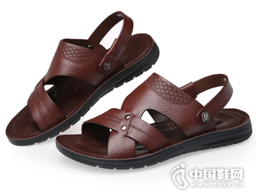 老人頭涼鞋男夏季2019新款