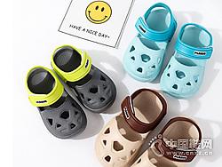 幼儿洞洞鞋1-4岁卡巴奇沙滩凉拖鞋