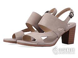 时尚罗马后空中高跟鞋COZY STEPS新款