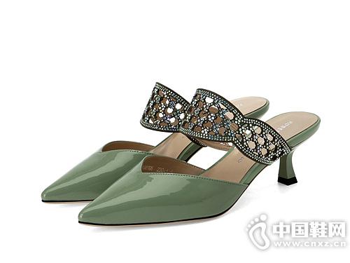 穆勒镂空优雅凉拖鞋 Roberta诺贝达女鞋