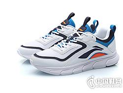 李宁跑步鞋男鞋新款光梭一体织跑鞋