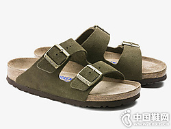 BIRKENSTOCK软木拖鞋?#20449;?#32466;面拖鞋